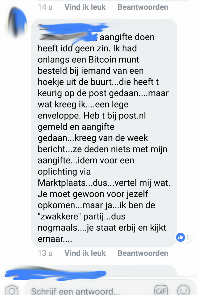 fysieke bitcoin