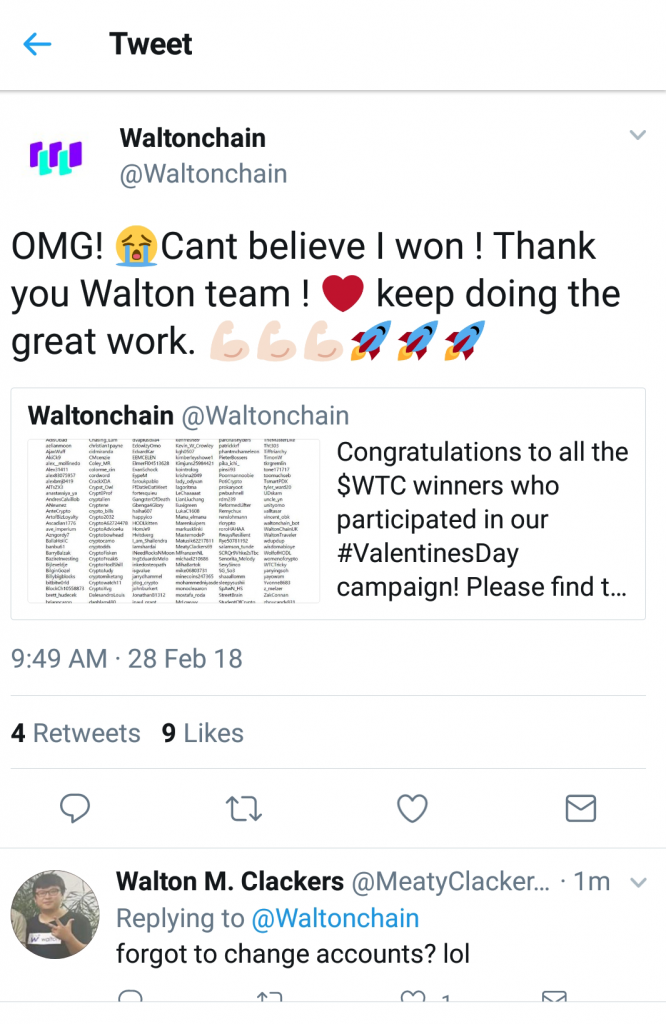 cryptofaal waltonchain twitter