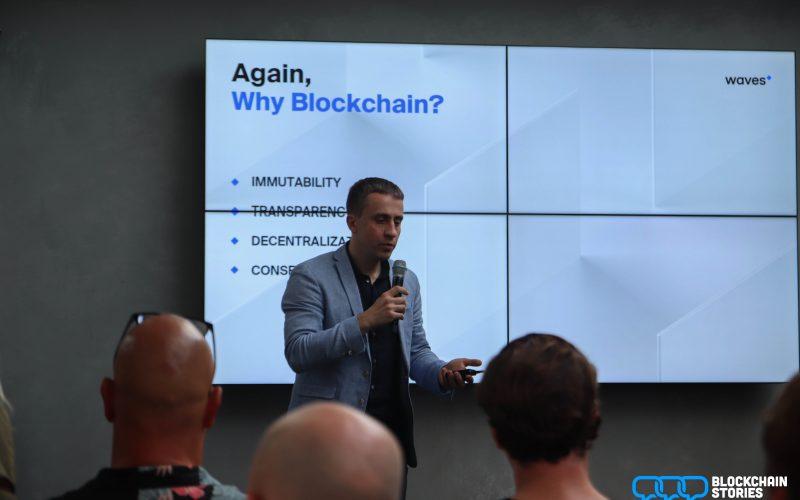 Waves CEO Sasha Ivanov praat weer eens over blockchains? Ja, alweer.