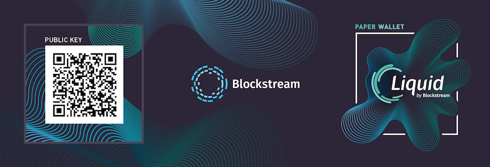 Blockstream Paper Wallet Liquid