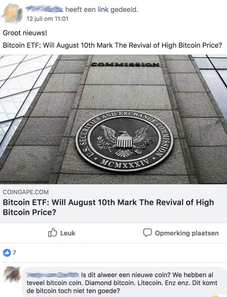 Bitcoin ETF nieuwe coin