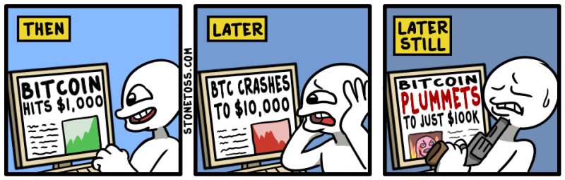 Bitcoin naar 100k strip
