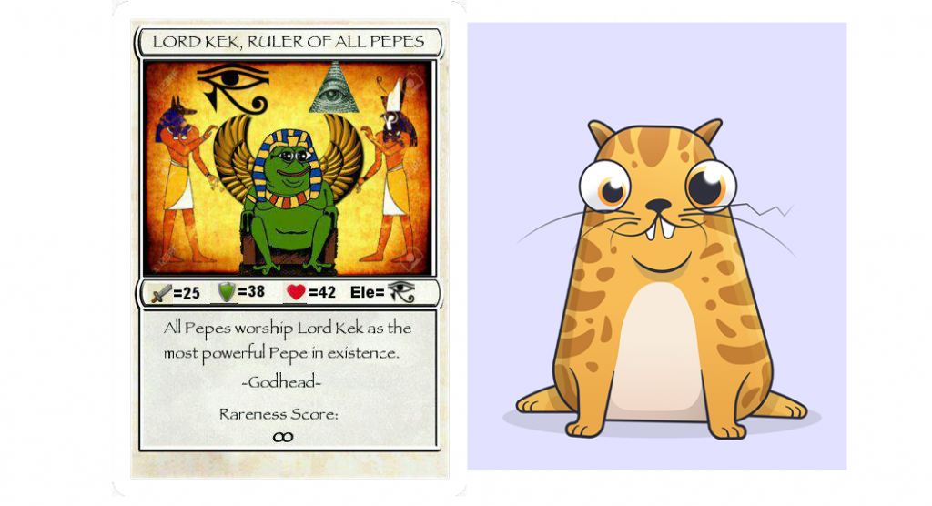 Rare Pepe Cryptokitties