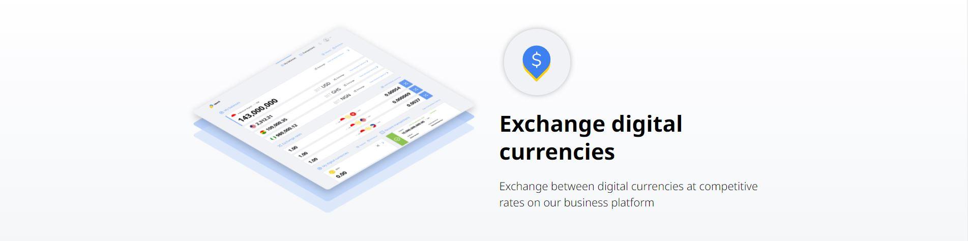 Op de SparkDEX kun je metde verschillende digitale valuta handelen