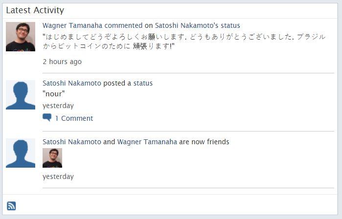 Nakamoto nieuw bericht
