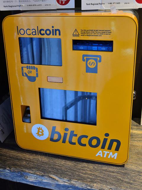 Bitcoin ATMs aantal groeit