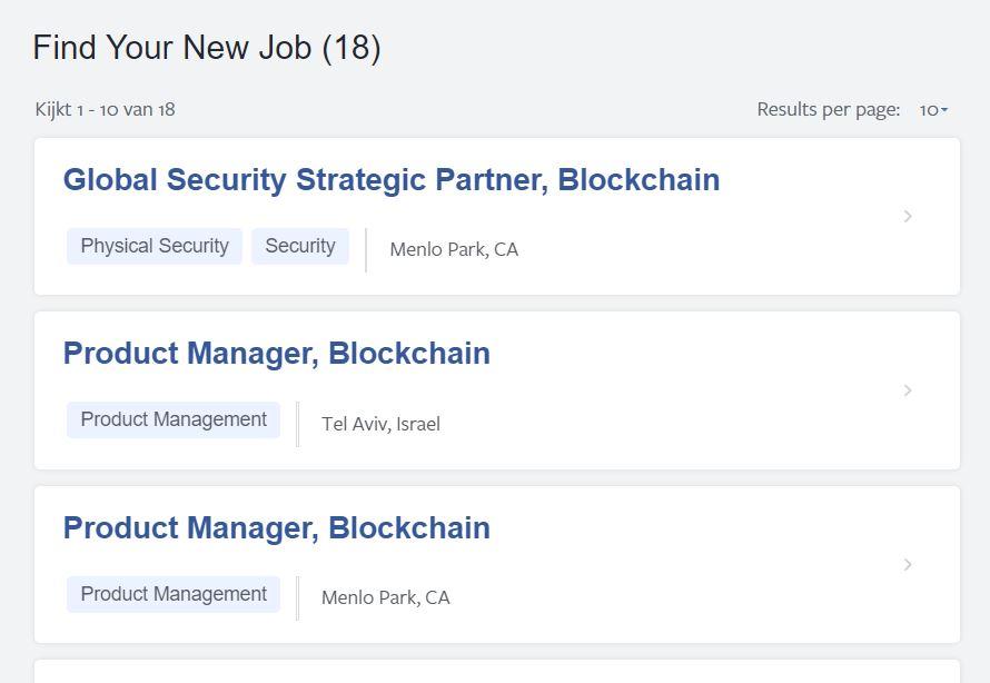 Facebook eigen cryptocoin