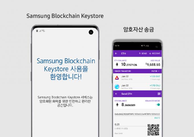 enjin blockchain wallet samsung