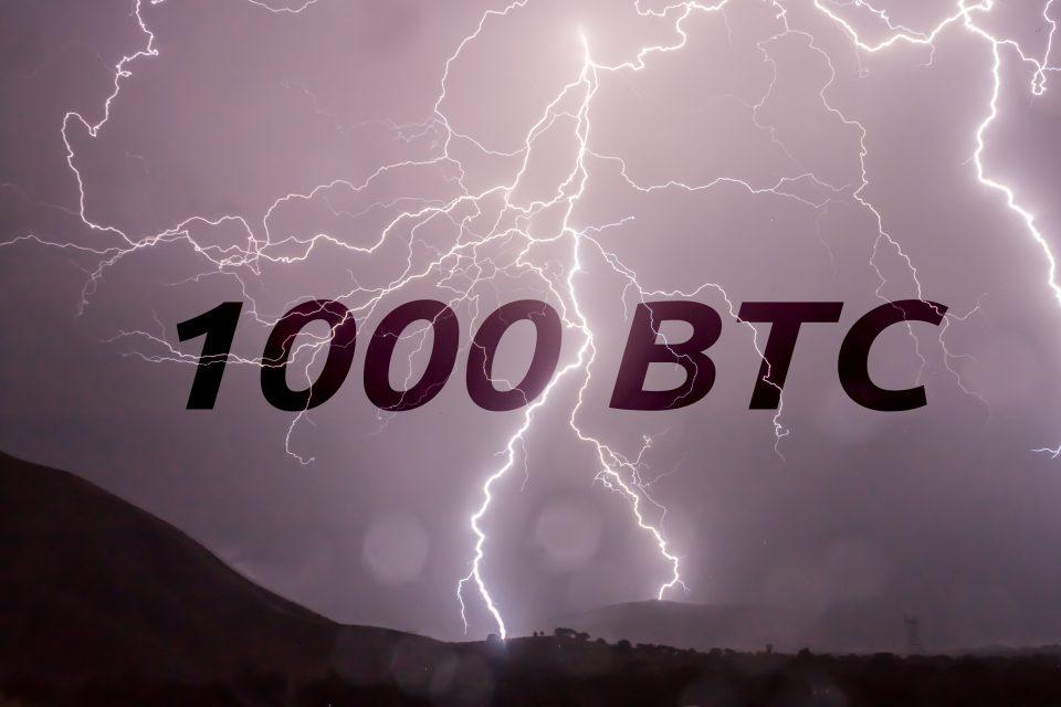 Lightning Network capaciteit