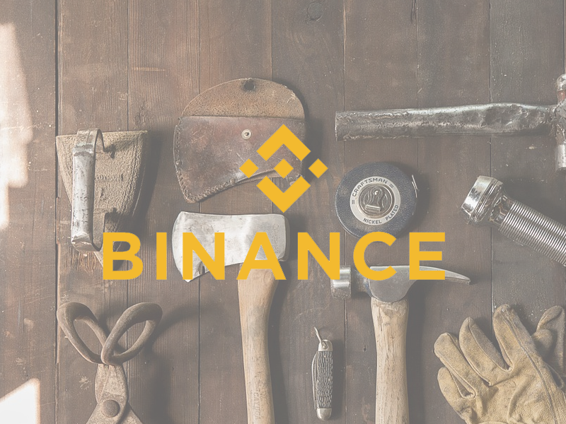 binance down onderhoud upgrade exchange